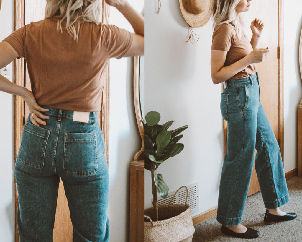 Everlane Denim Guide: Every Style Reviewed, wide leg jean