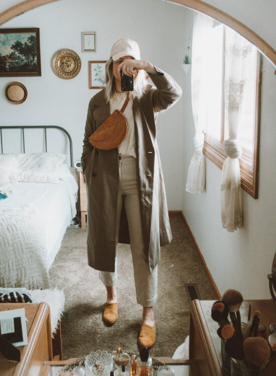 Styling New in at Everlane: What I'm Loving Lately, drape trench coat