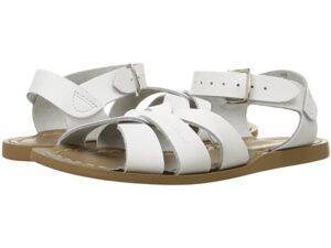 White Saltwater Sandals