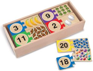 Melissa & Doug Wooden Number Puzzles