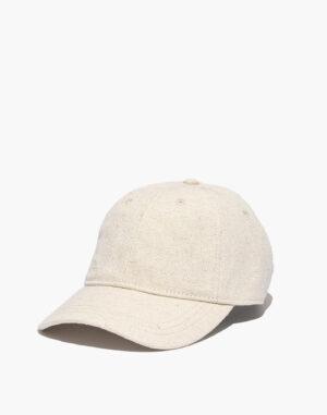 Madewell Cotton Linen Baseball Cap
