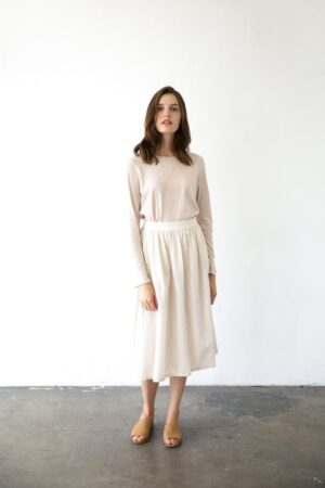 It is Well L.A. Cupro Skirt
