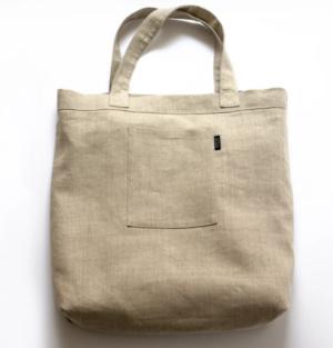 Shin+Na Mitaka Linen Large Bag