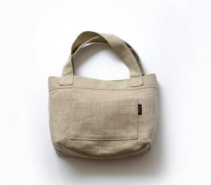 Shin+Na Mitaka Linen Small Bag