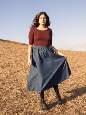 Curator San Francisco Fawn Skirt