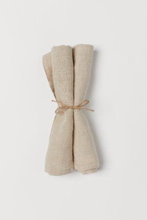 H&M 2 Pack Linen Napkin