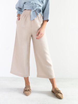 Love & Confuse Riley Wide Leg Linen Pant