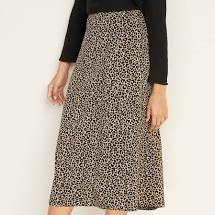 Old Navy Leopard Skirt
