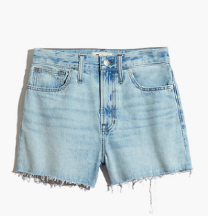 Madewell The Perfect Jean Short