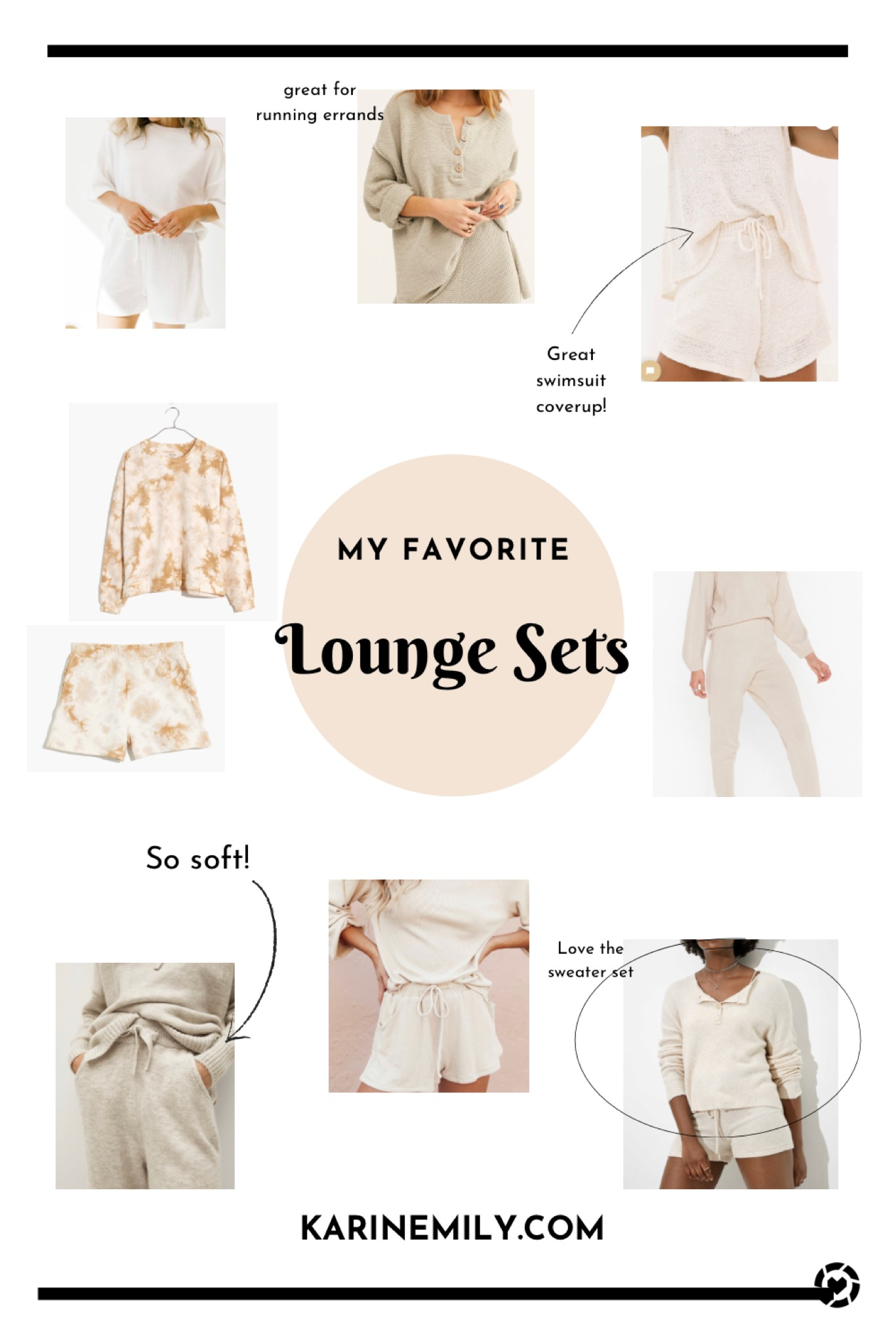 My Favorite Cozy Lounge Sets