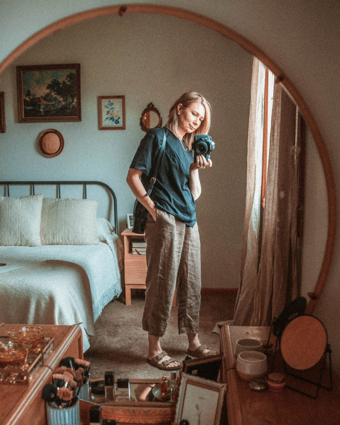 4 Ways to Wear Trousers, Brown Linen Trousers