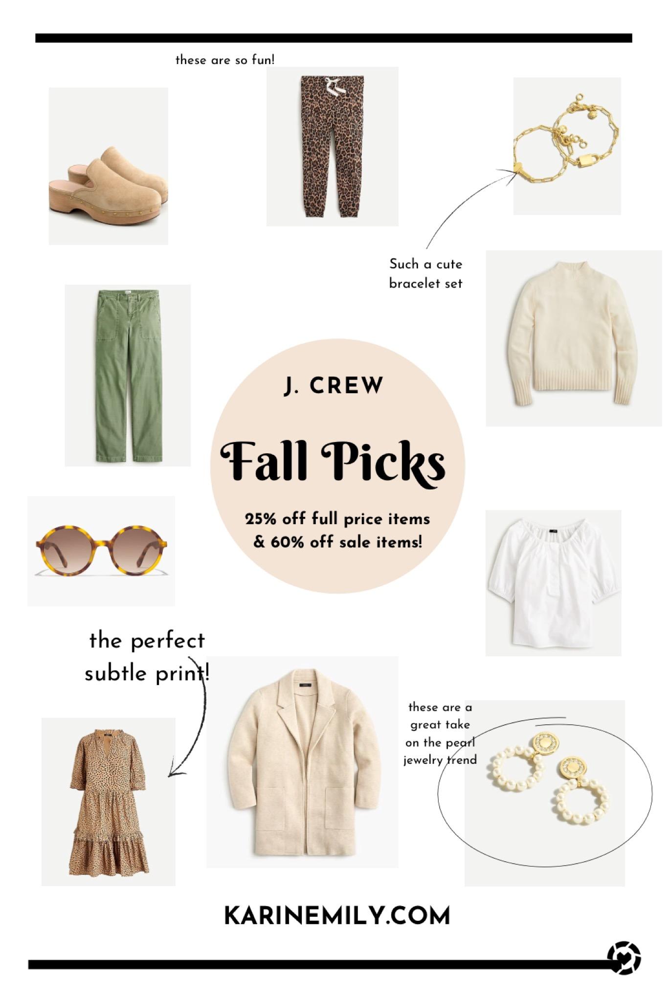 My J.Crew Fall Style Picks