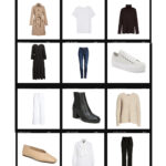 Modern Basics Capsule Wardrobe featuring all pieces from the Nordstrom Anniversary Sale