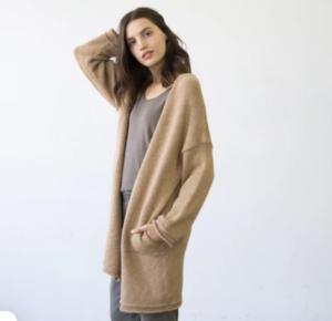 It is Well L.A. Sweater Coat