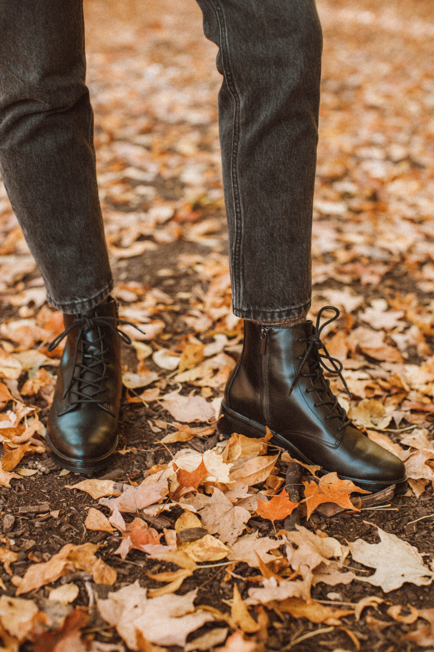 New in at Everlane: What I'm Loving for Fall, alpaca crewneck, 90's cheeky jean, modern utility lace up boot review