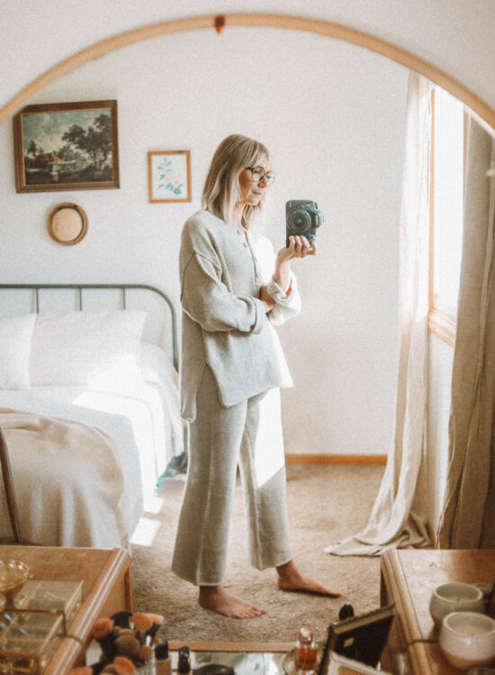 Outfits from the Past Week, Loungewear Set, Free People