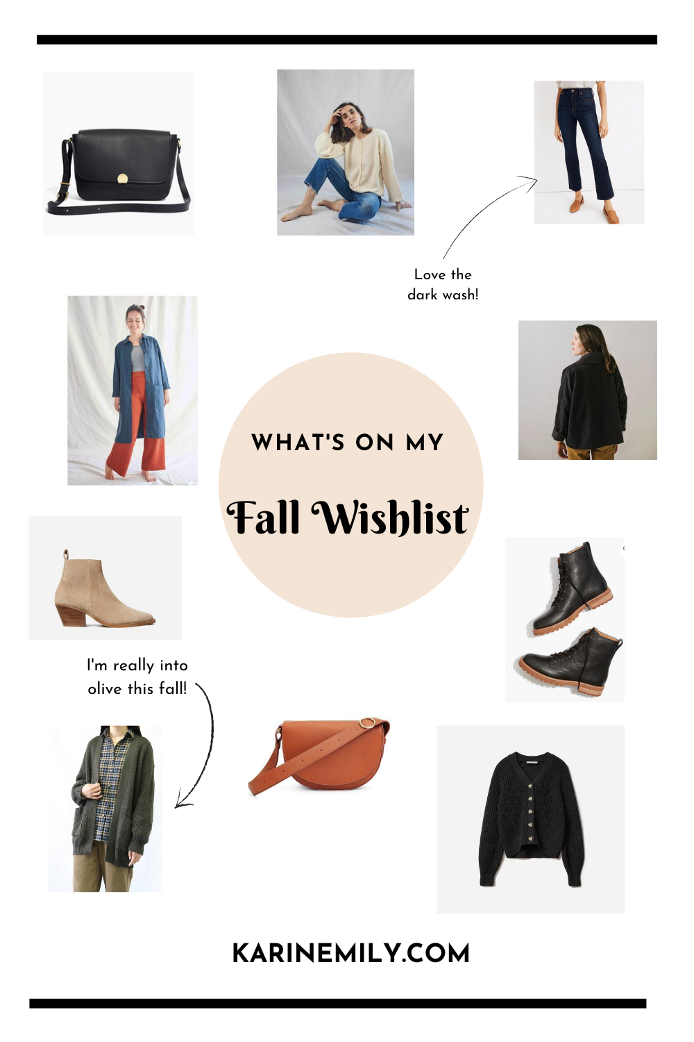 What's on my Fall Style Wishlist
