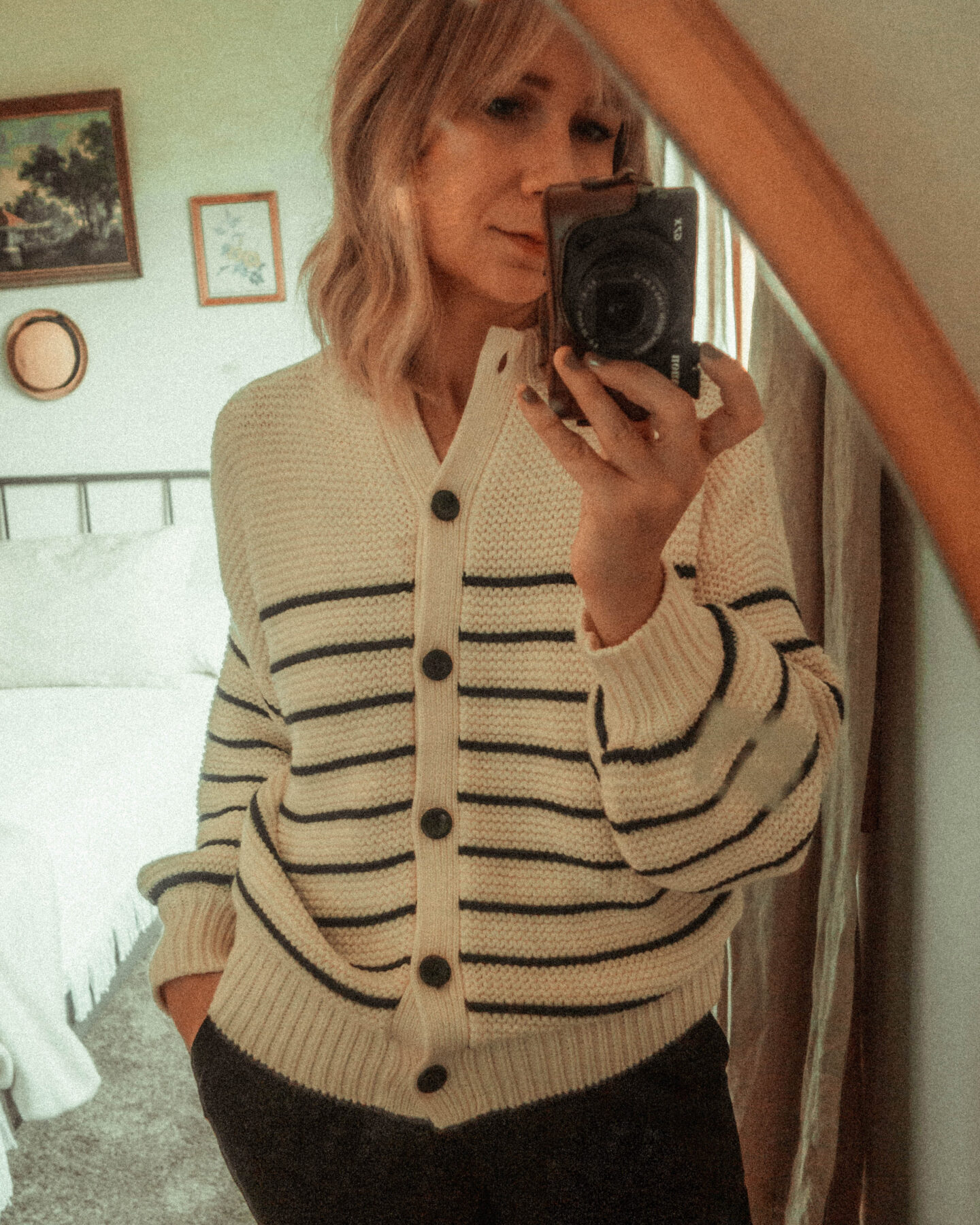 The Best Fall Sweaters at All Price Points! Sezane Breton Stripe Sweater Alex Mills