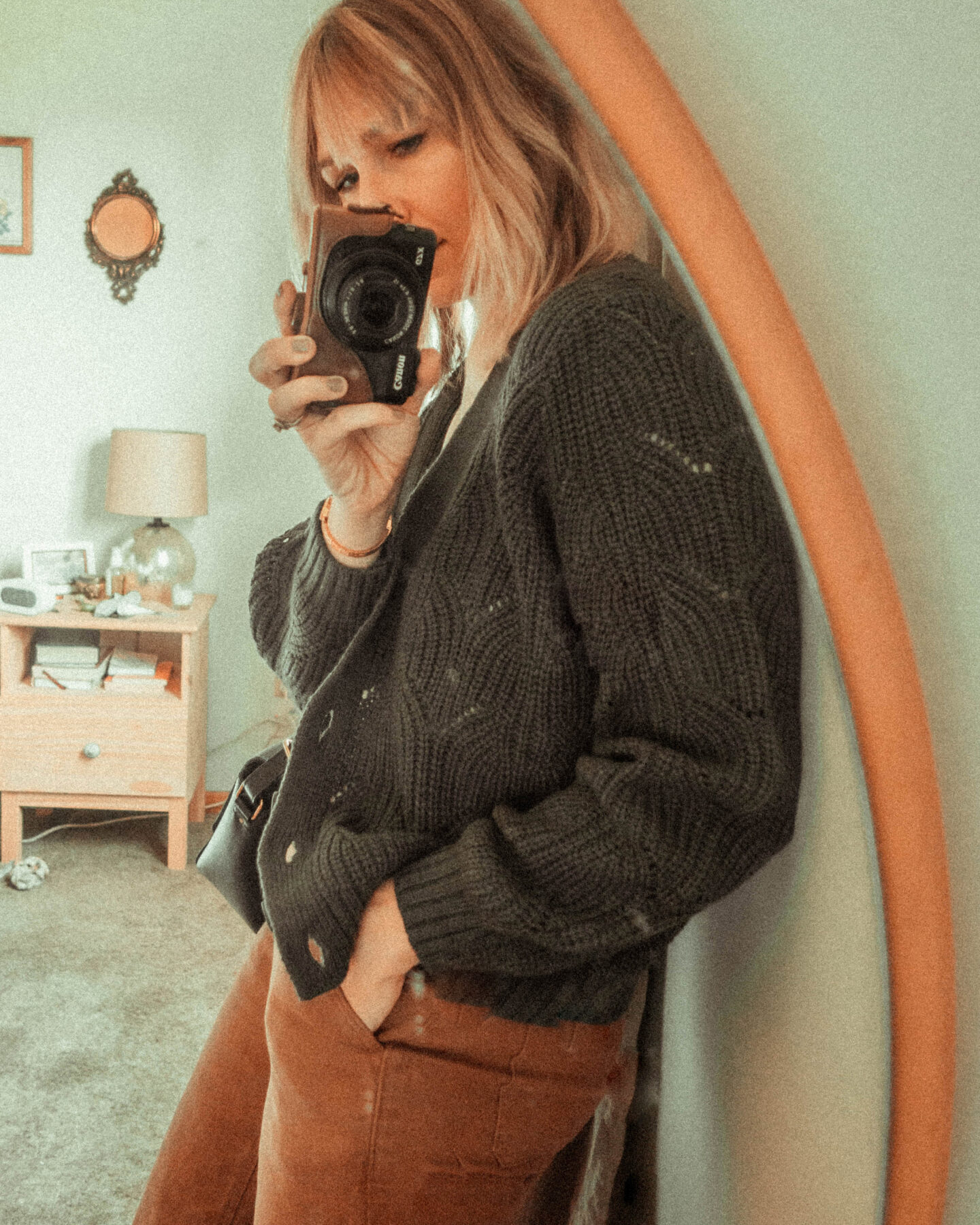 The Best Fall Sweaters at All Price Points! Chunky Cropped Cardigan