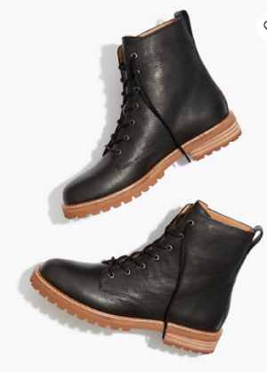 Madewell Clair Lace Up Boot