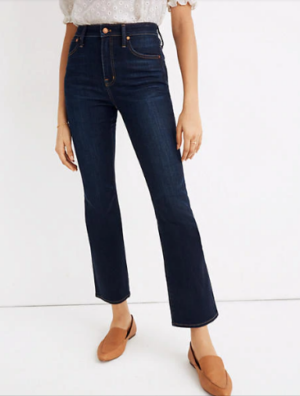 Madewell Curvy Cali Demi Boot Jean