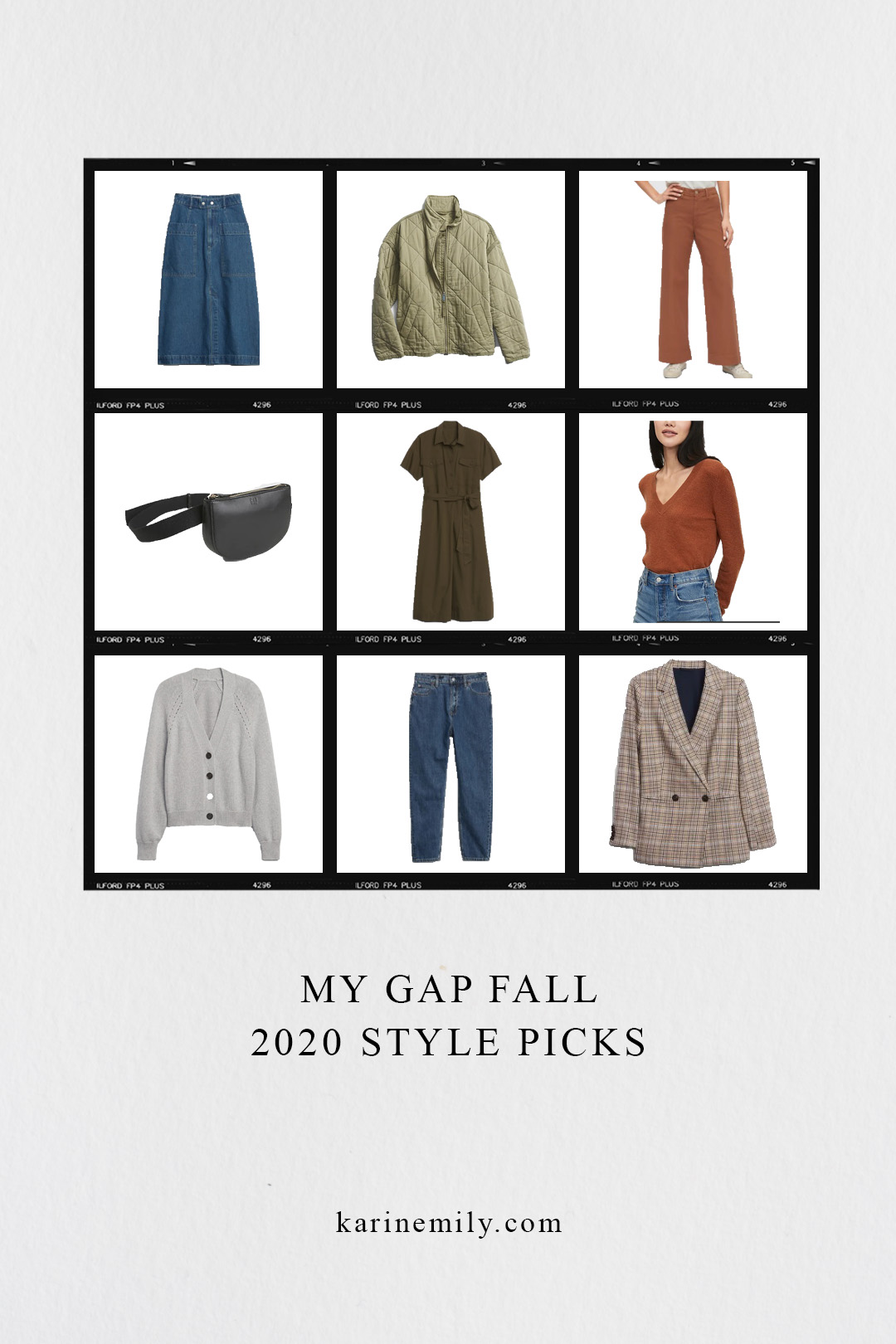 My Gap Fall 2020 Style Picks