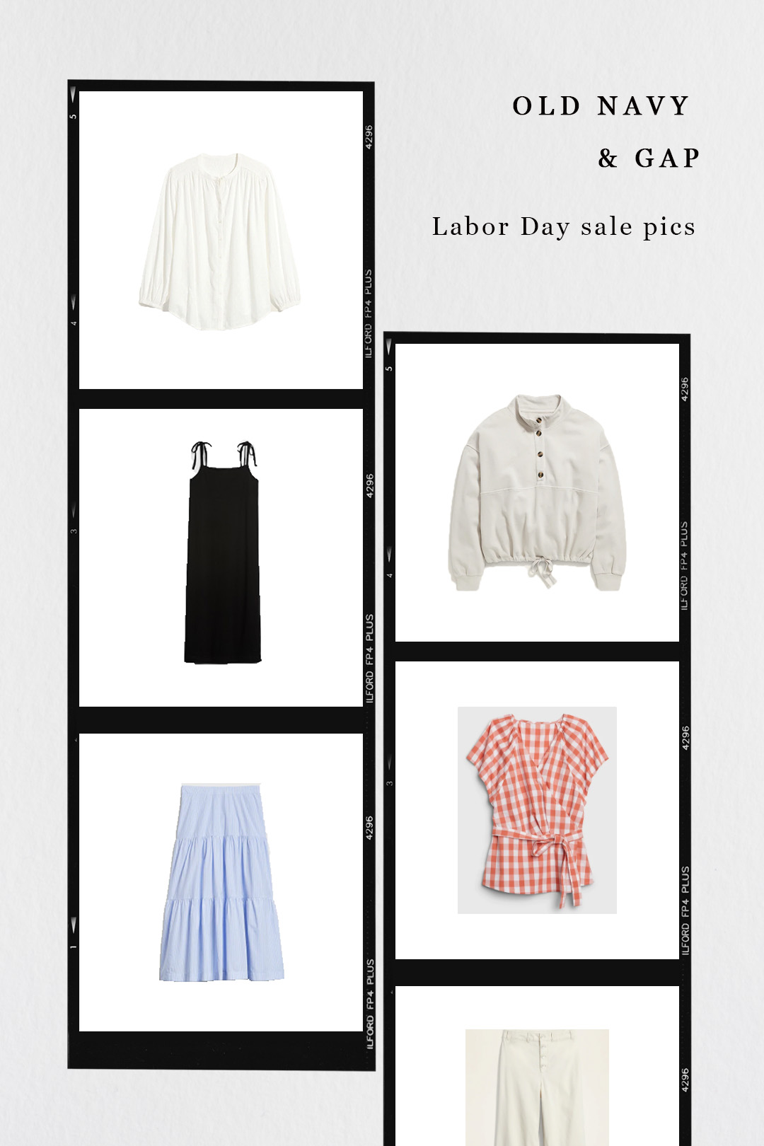 Old Navy and Gap Labor Day Sale Picks