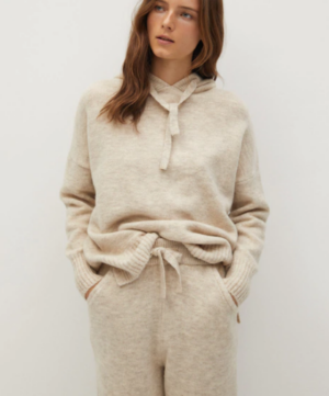 Mango Loungewear Hooded Sweater