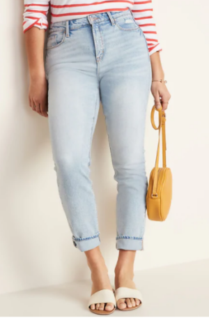Old Navy High Waisted Power Straight Jeans