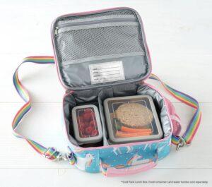 Pottery Barn Aqua Unicorn Lunchbox