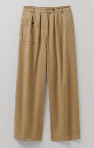 Toast Soft Cotton Twill Trousers