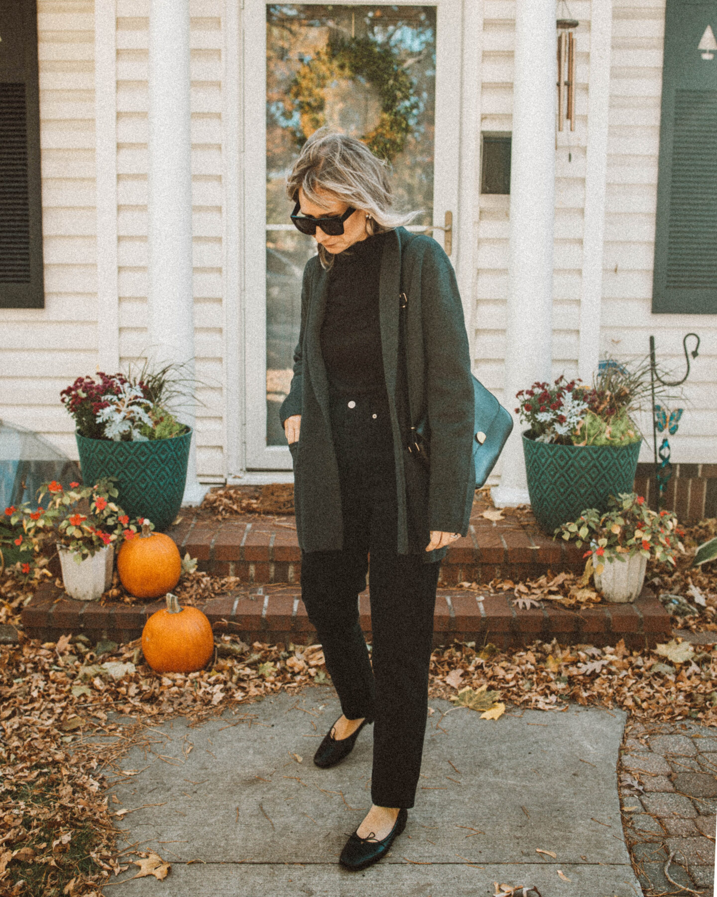 Monochrome Outfit Ideas you can Style for Real Life, J Crew Sweater Blazer