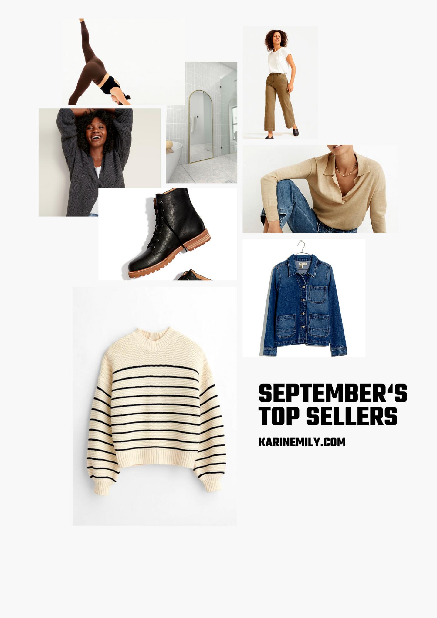Septembers top sellers