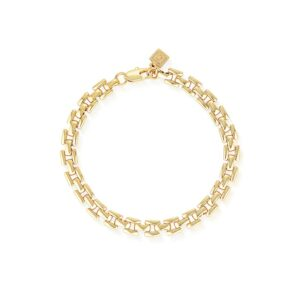 Glacier Mist Watch Chain Bracelet