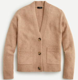 J. Crew Cropped Cardigan Sweater