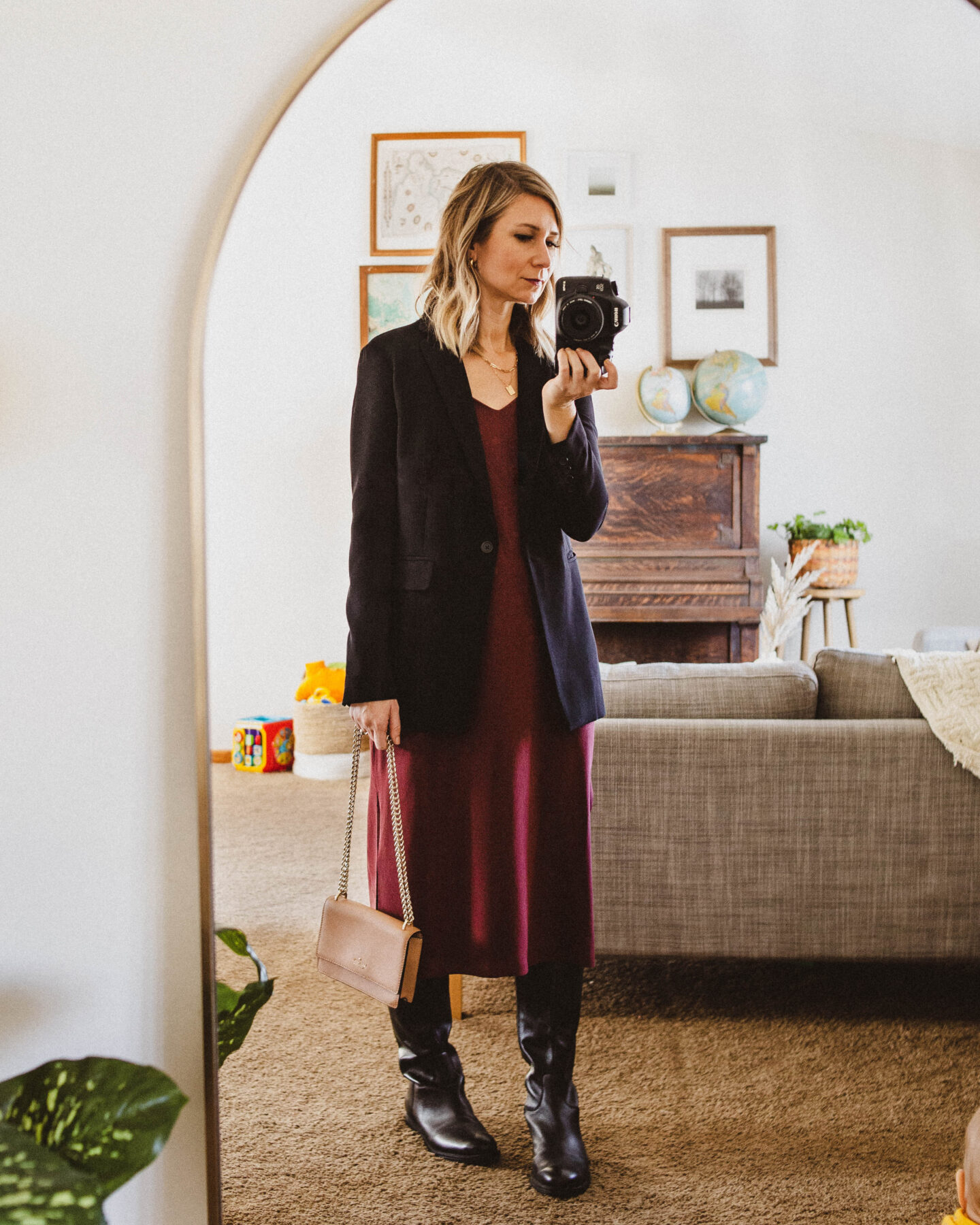 Holiday Outfits: 3 Ways to Wear a Slip Dress