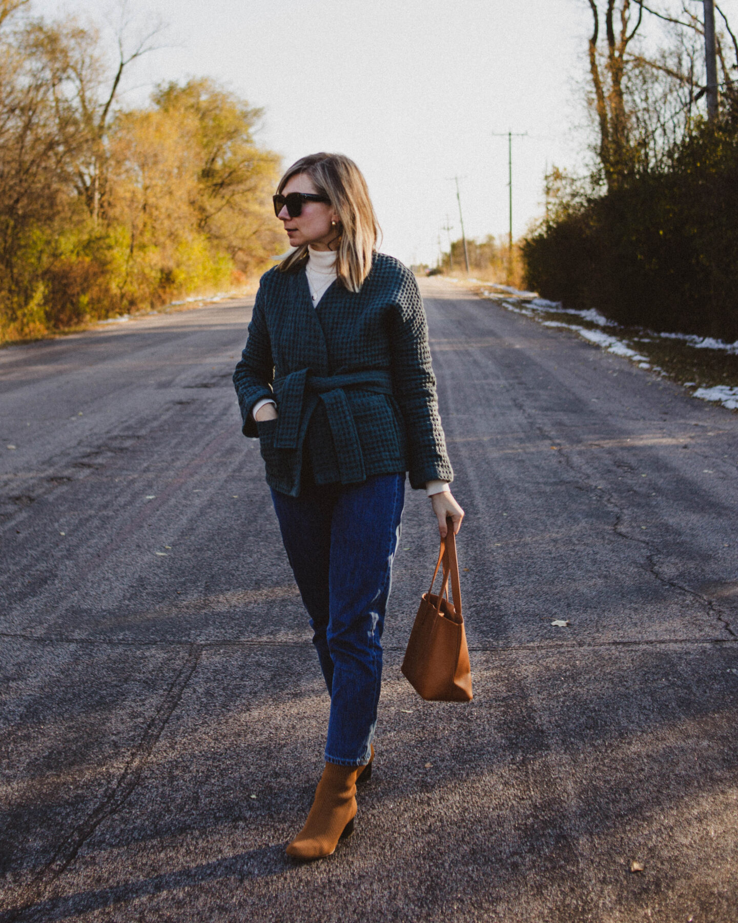 The Wrap Jacket: Nov. 2, 2020 Outfit