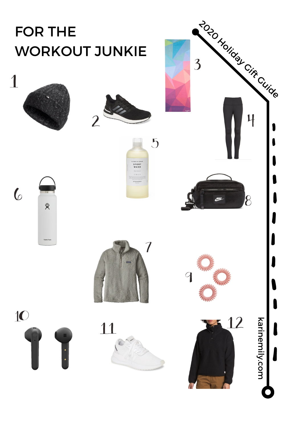 2020 Holiday Gift Guide for the Workout Junkie