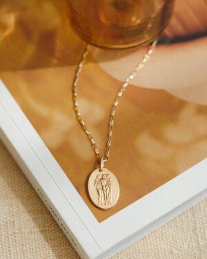 Gldn 3 Graces Necklace