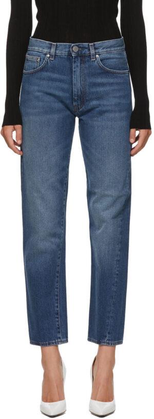 Toteme Blue Washed Original Jeans