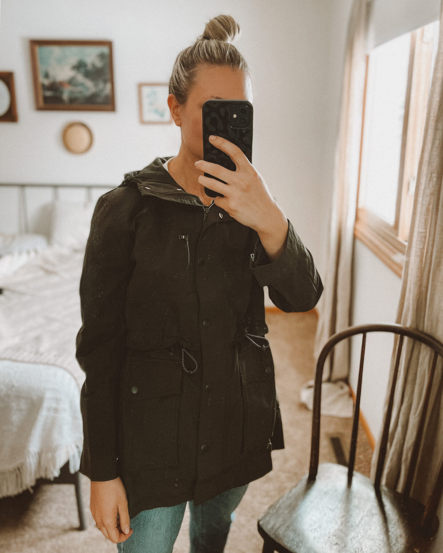 New Spring pieces from  Madewell & J.Crew: Soft, Easy Basics, rain coat