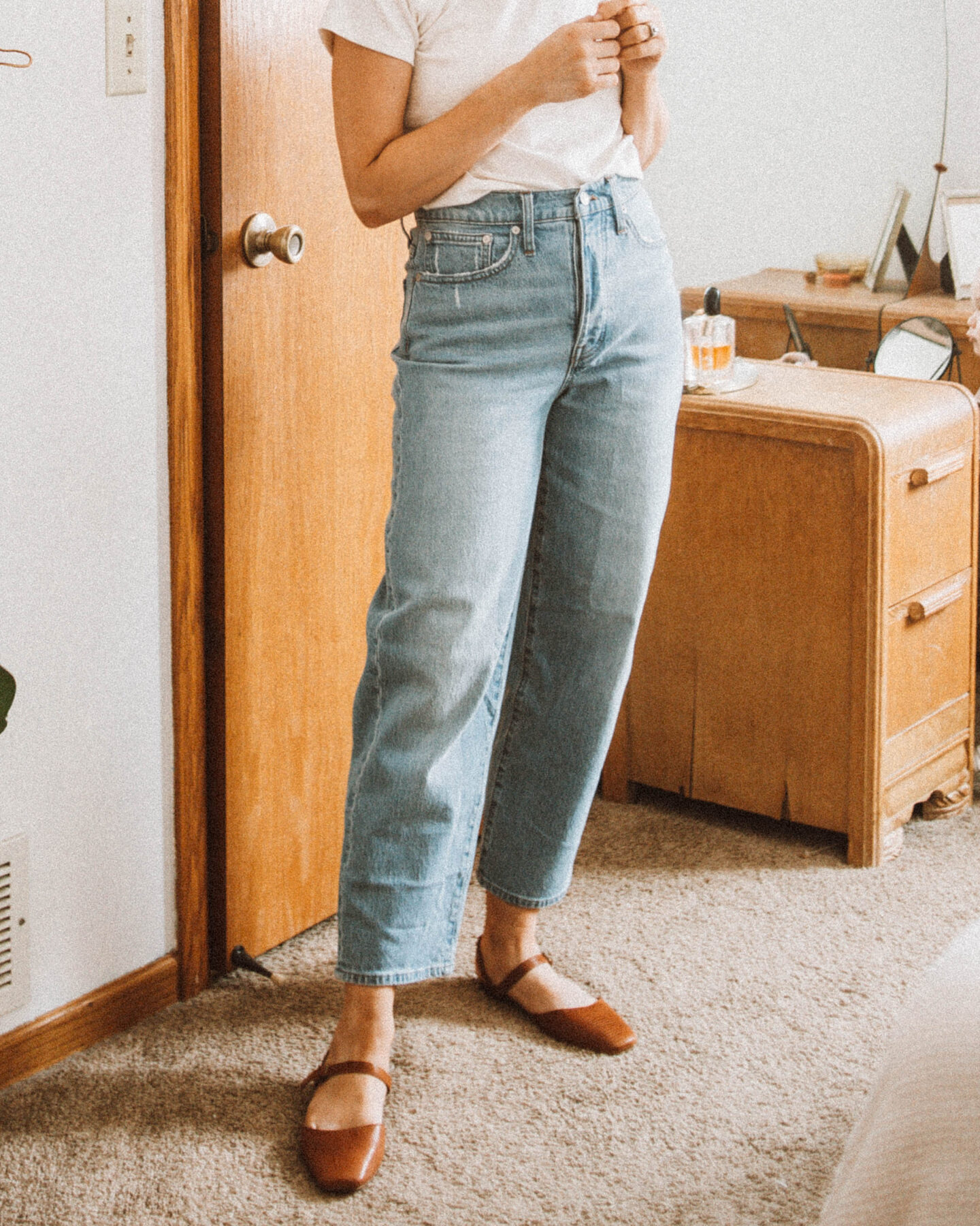 New Spring pieces from  Madewell & J.Crew: Soft, Easy Basics, balloon jean