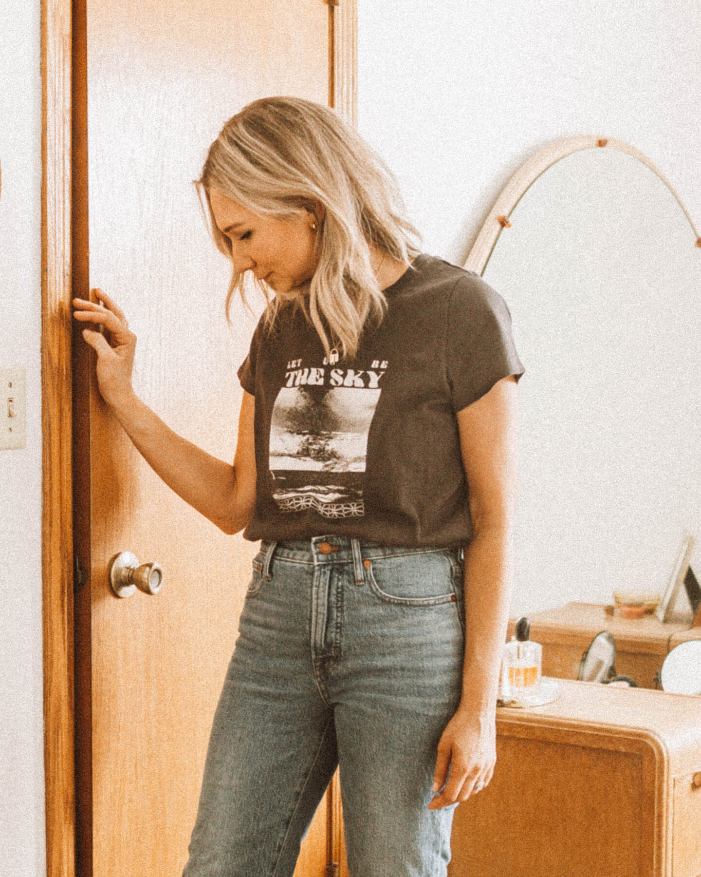 New Spring pieces from  Madewell & J.Crew: Soft, Easy Basics, graphic tee
