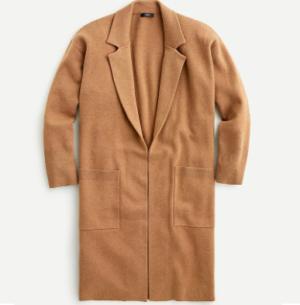Zara Bella Open Front Long Sweater Coat
