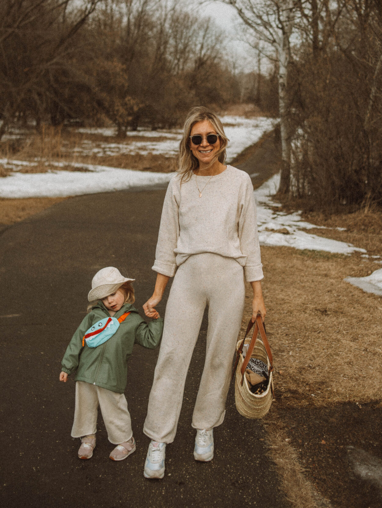 kid fanny packs, cozy knitwear set