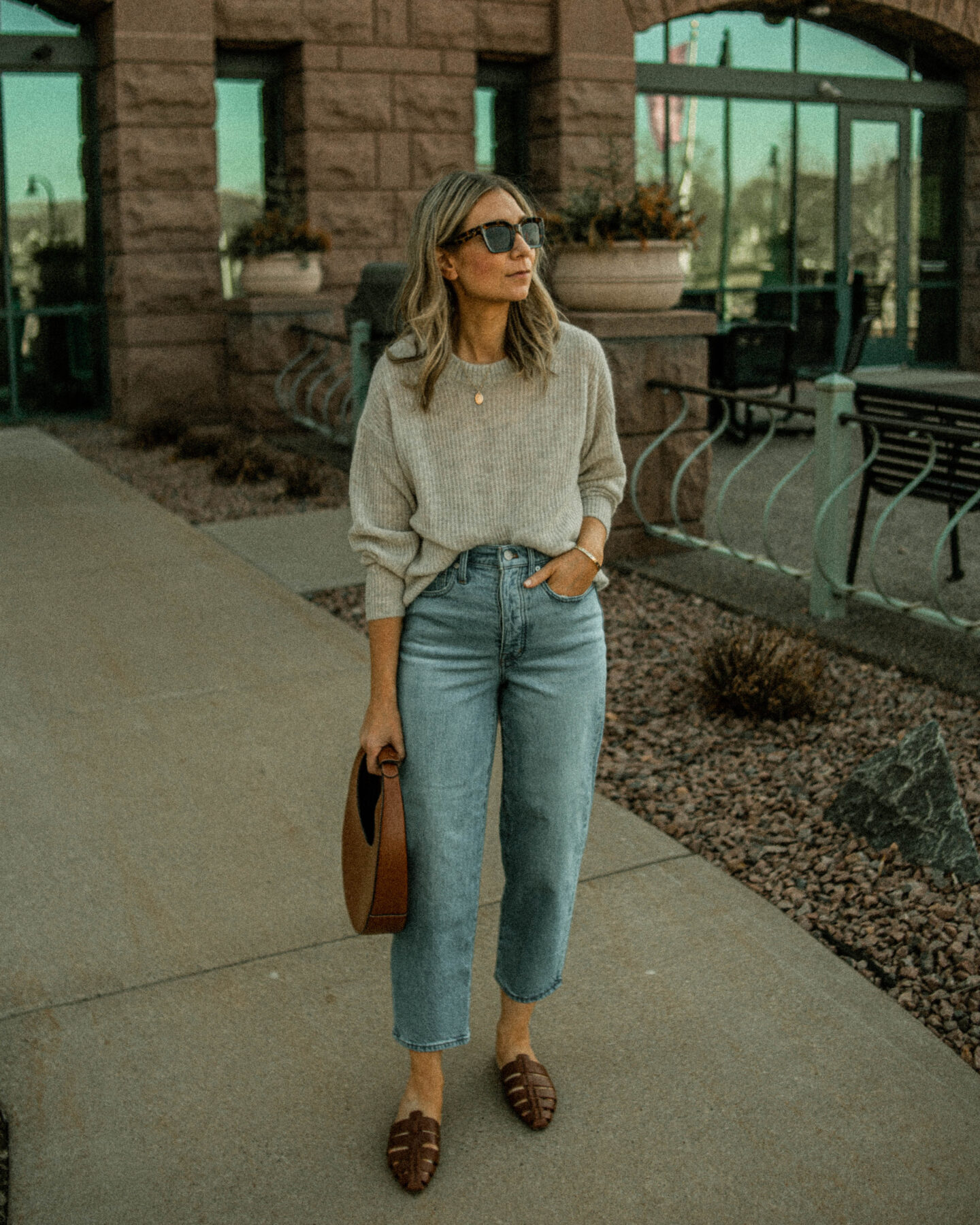 How to Style Balloon Jeans: My Favorite Pair + How I'm Wearing Them Madewell Balloon Jeans