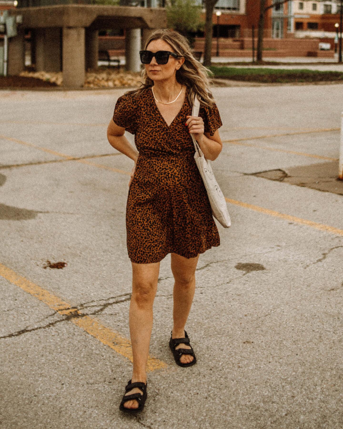 My Favorite Summer Dresses + How I'm Styling Them, Madewell Dress, leopard print dress