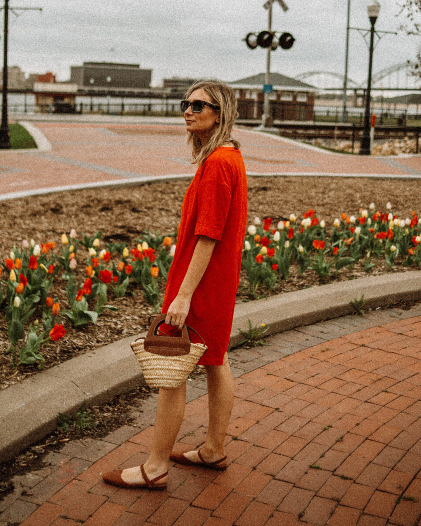 My Favorite Summer Dresses + How I'm Styling Them, Red Dress, Target Dress