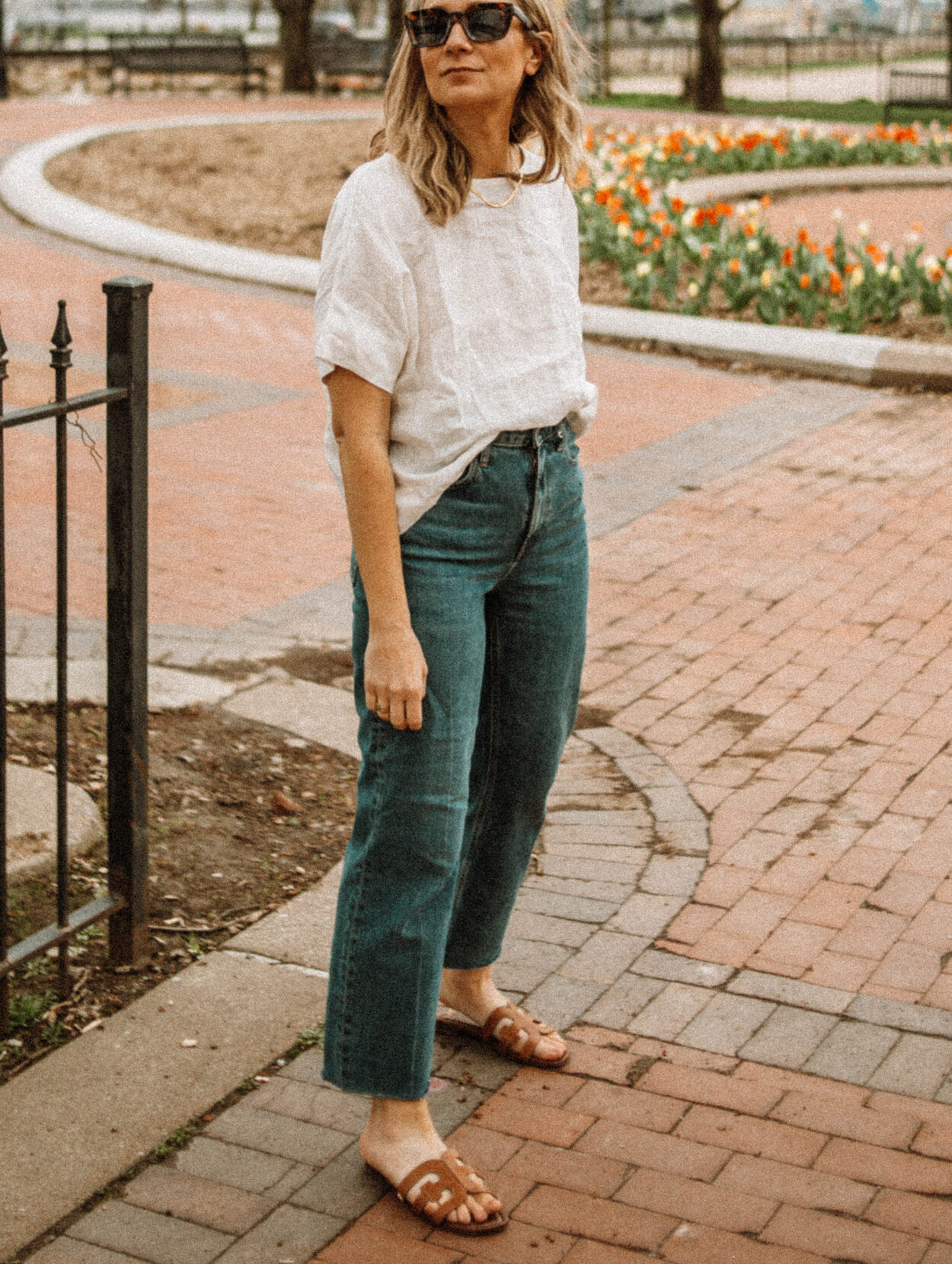 3 Blouses You Need in Your Spring and Summer Capsule Wardrobe, linen blouse