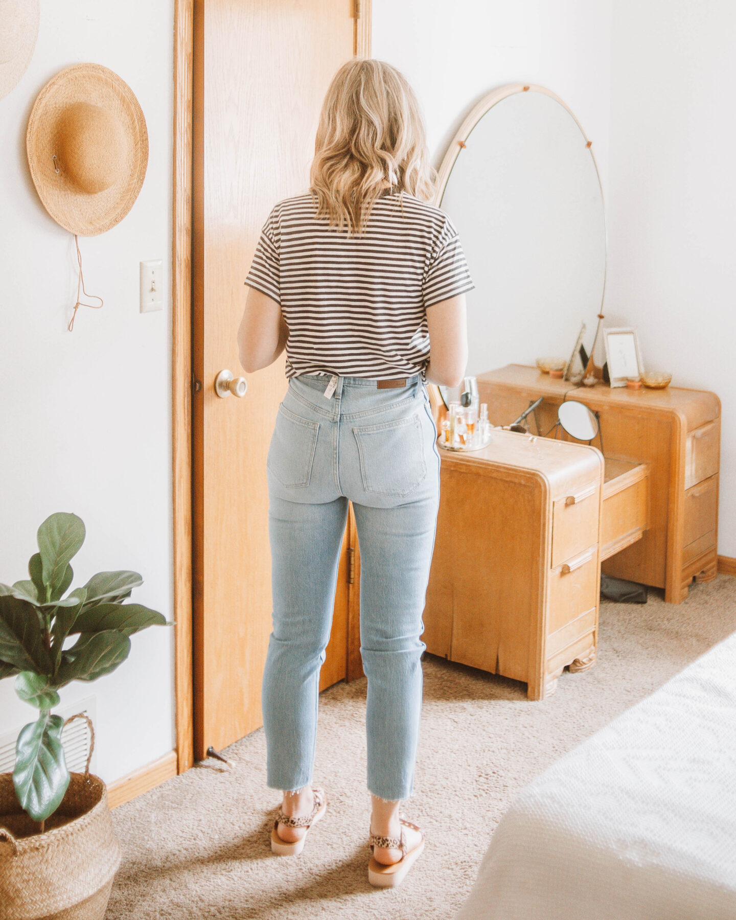 madewell denim guide, stovepipe review
